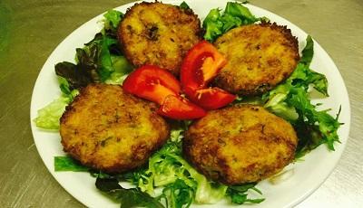 κολοκυθοκεφτέδες - kolokithokeftedes (Polpettine di zucchine)